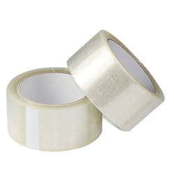 PP-packaging tape, transparent